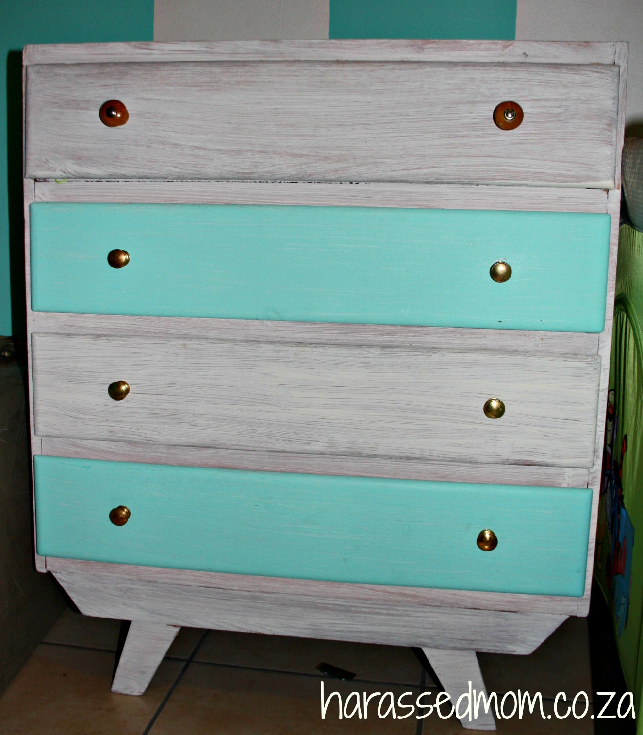 Budget Room Makeover Chest of Drawers