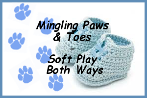 Mingling Paws and Toes