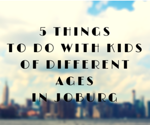 5 things to do with kids of different