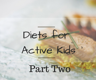 Diets for Active Kids by Juniva