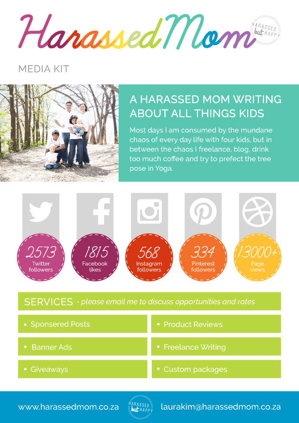 HarassedMom Media Kit