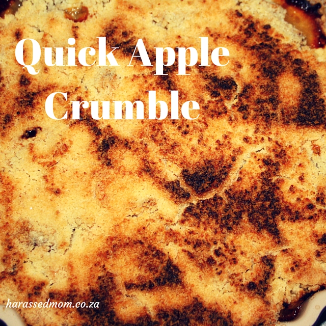 Quick Apple Crumble (1)