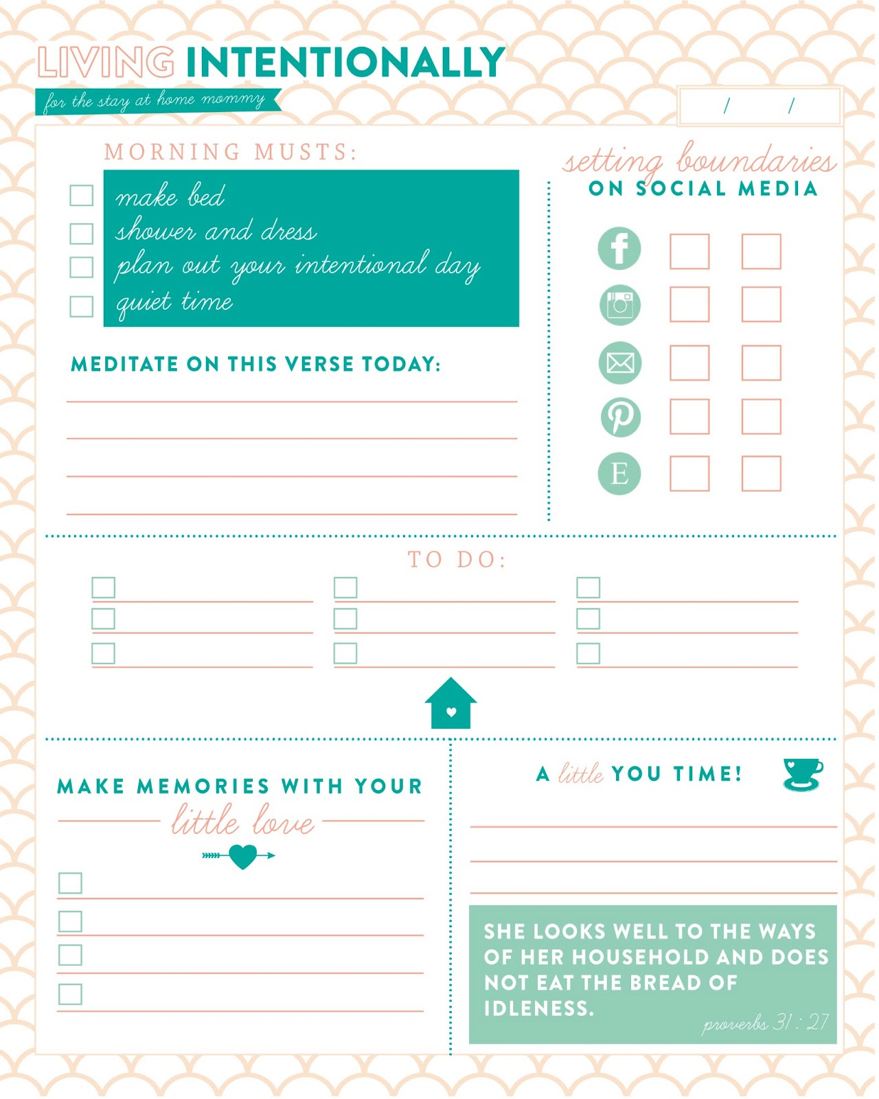Daily Planner|HarassedMom