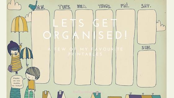 Lets Get Organised|Harassedmom