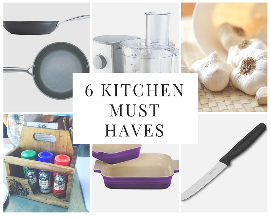 6 Kitchen Must Haves|HarassedMom