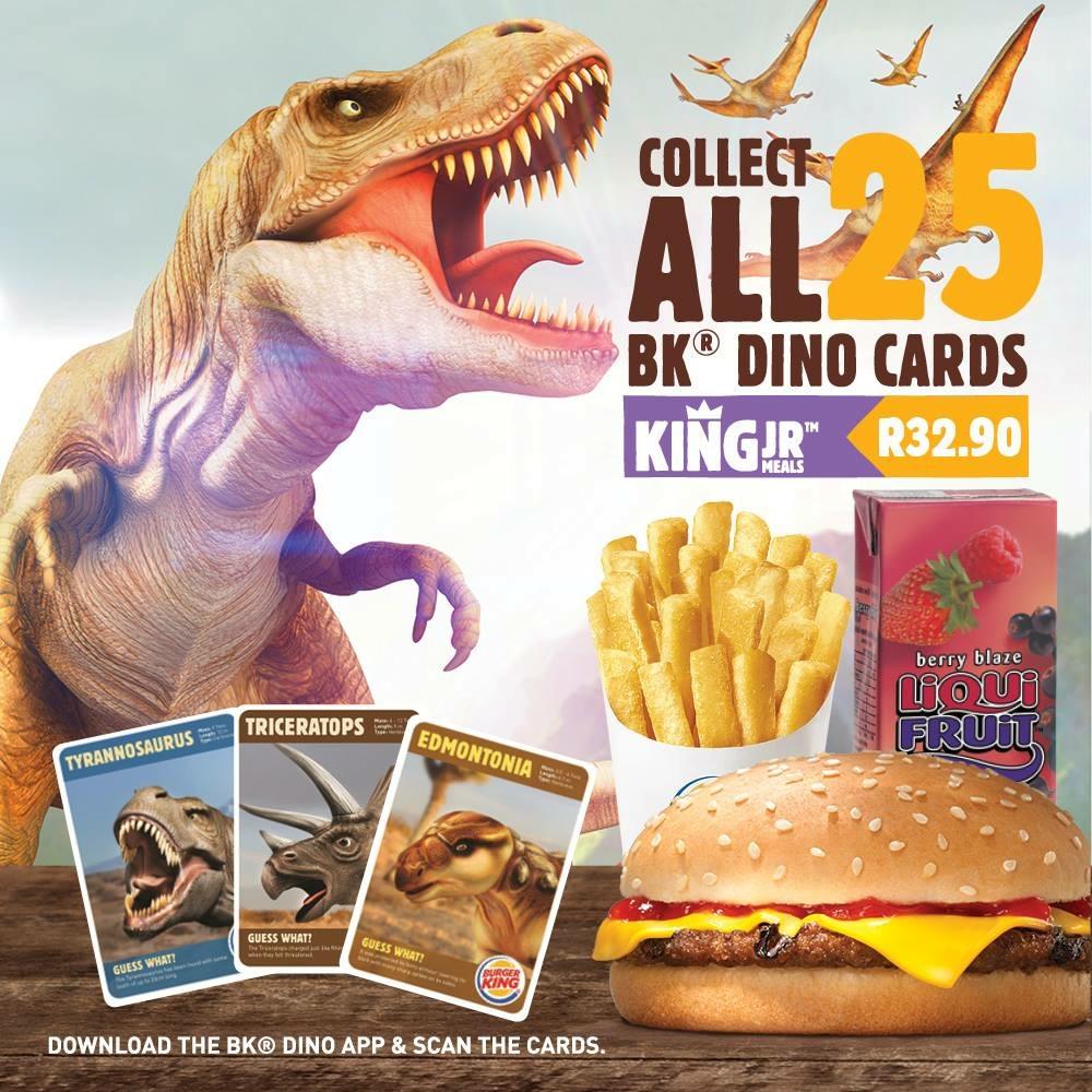 BK® Dino Cards | HarassedMom