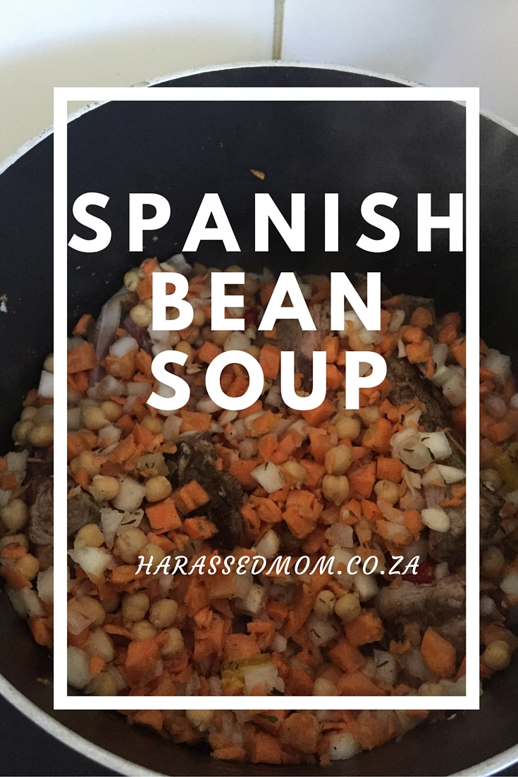 Spanish Bean Soup |HarassedMom