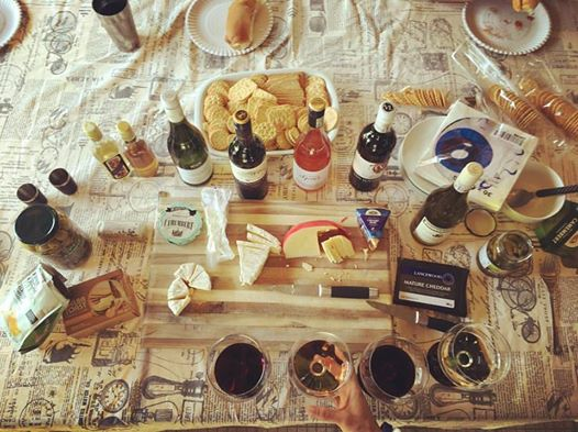 Cheese and Wine |HarassedMom