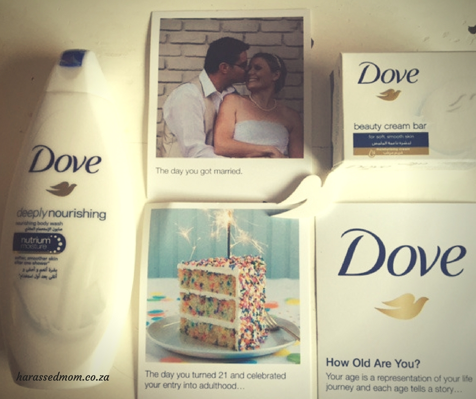 Age with Dove | HarassedMom