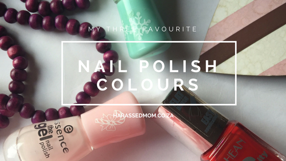 Nail Polish Colours|HarassedMom