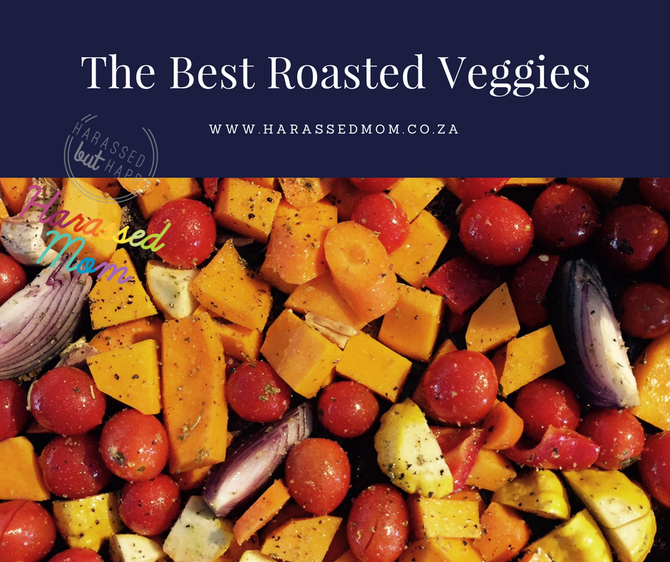 The Best Roasted Veggies|HarassedMom