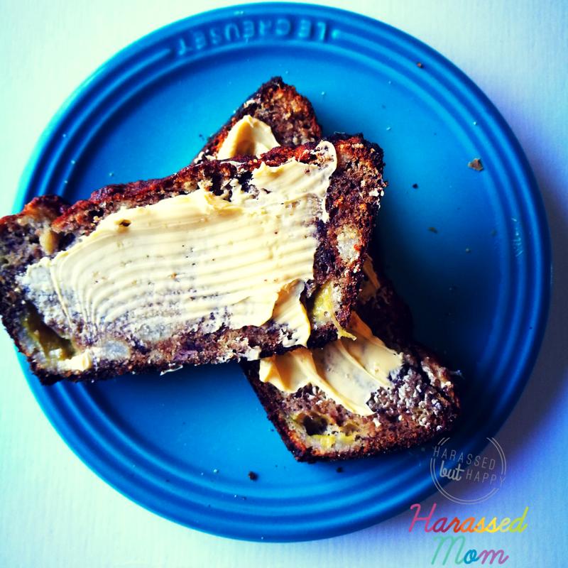 Coconut Flour Banana Bread|HarassedMom
