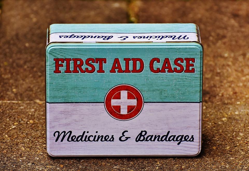 First Aid Box| HarassedMom