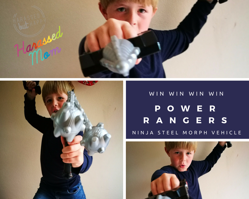 Power Rangers Ninja Steel|HarassedMom