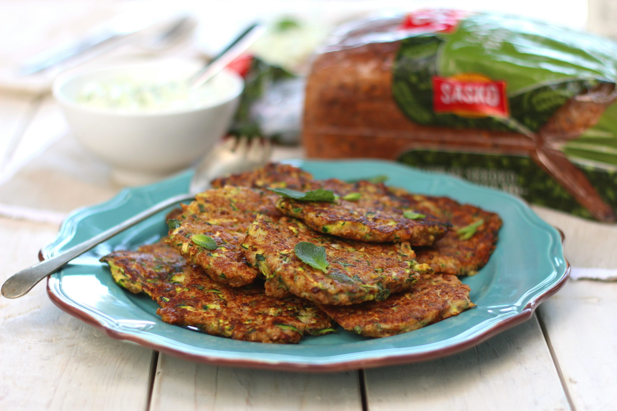 and Courgette Fritters|HarassedMom