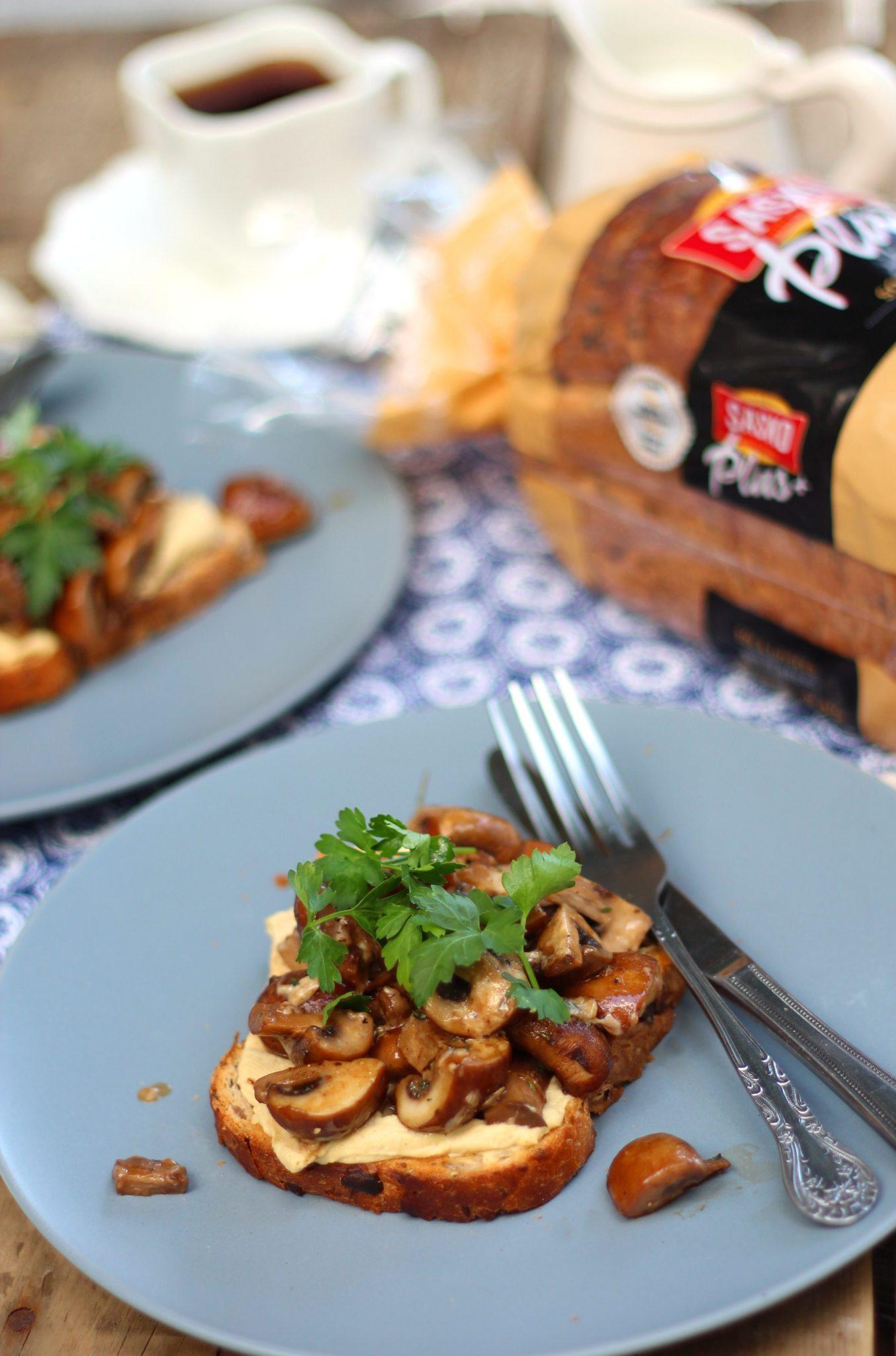 Mushrooms on toast|HarassedMom