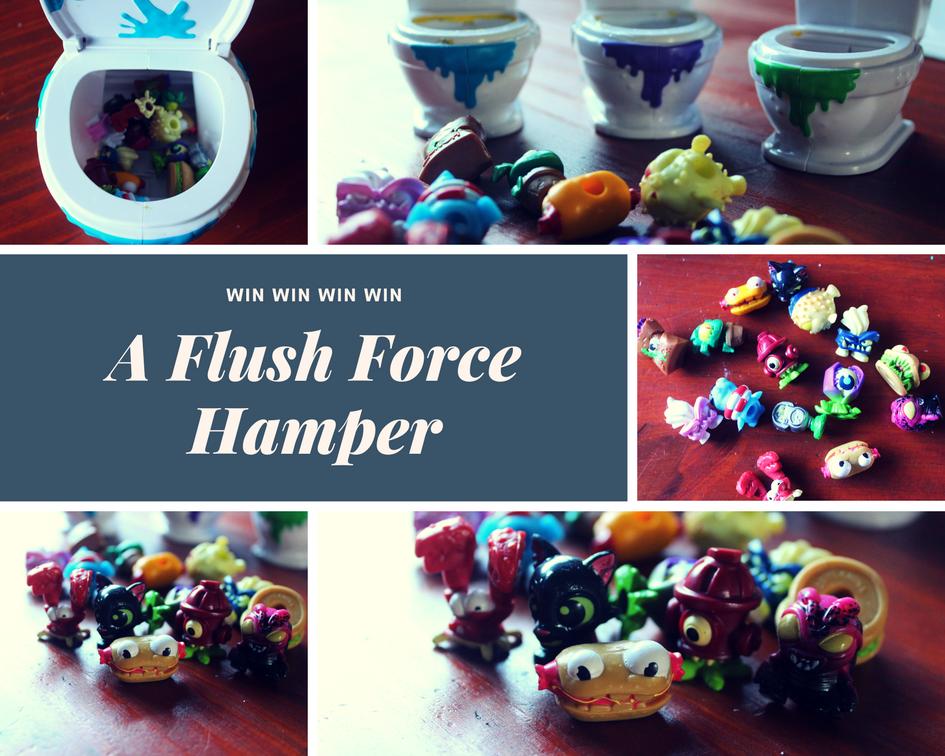 Flush Force Giveaway | HarassedMom