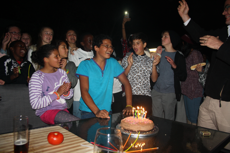 Cameron turns 13