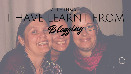 7 Things I have learnt from blogging HarassedMom
