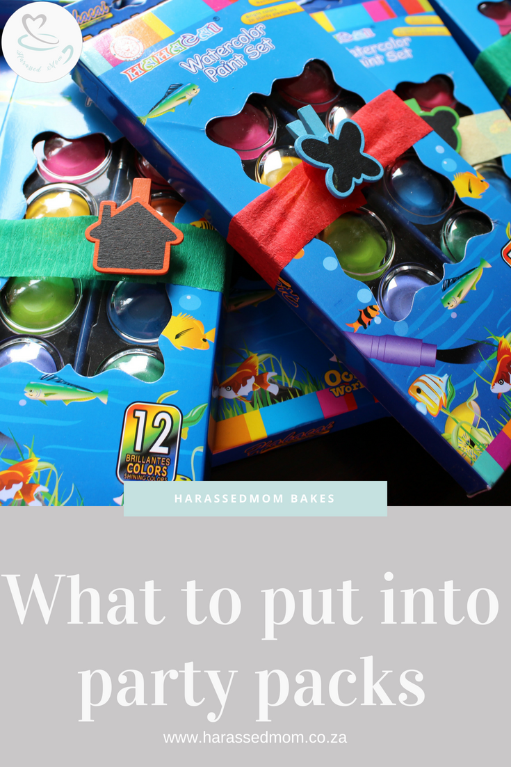 Party Pack Ideas for Kids | HarassedMom