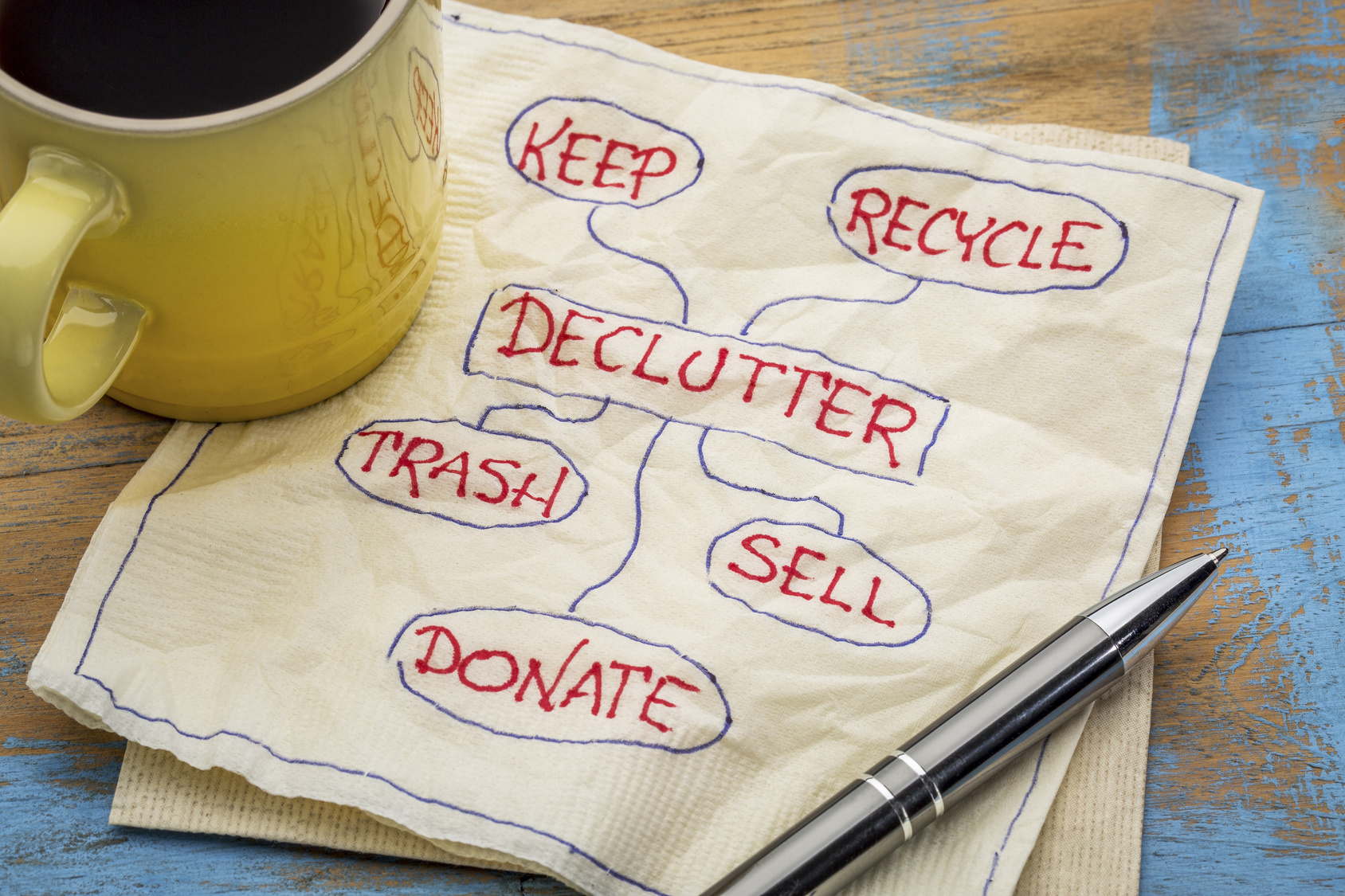 Clear the clutter|HarassedMom