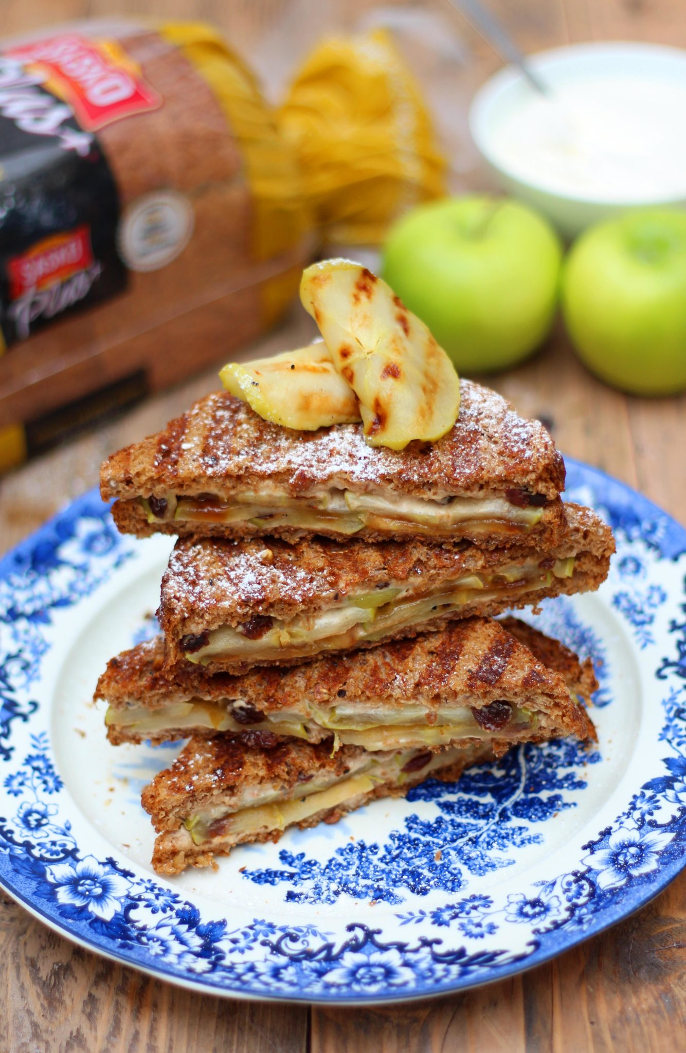 Apple Toasties|HarassedMom