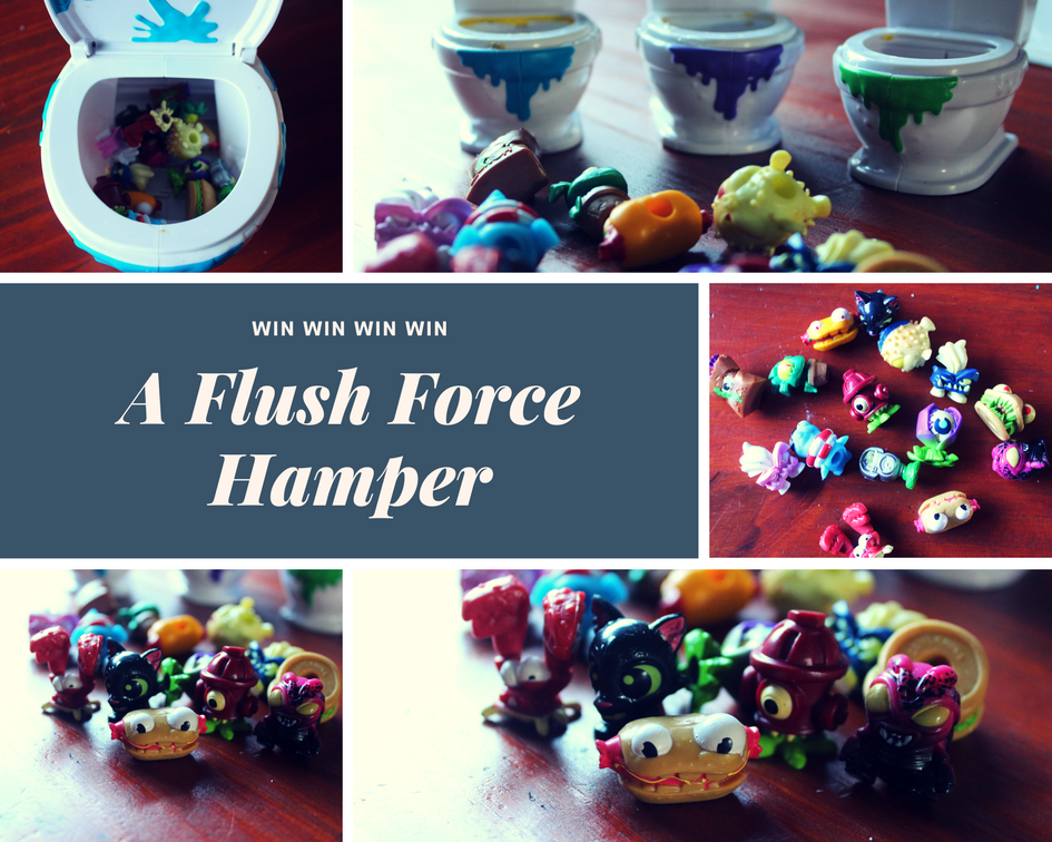Flush Force Giveaway | HarassedMom