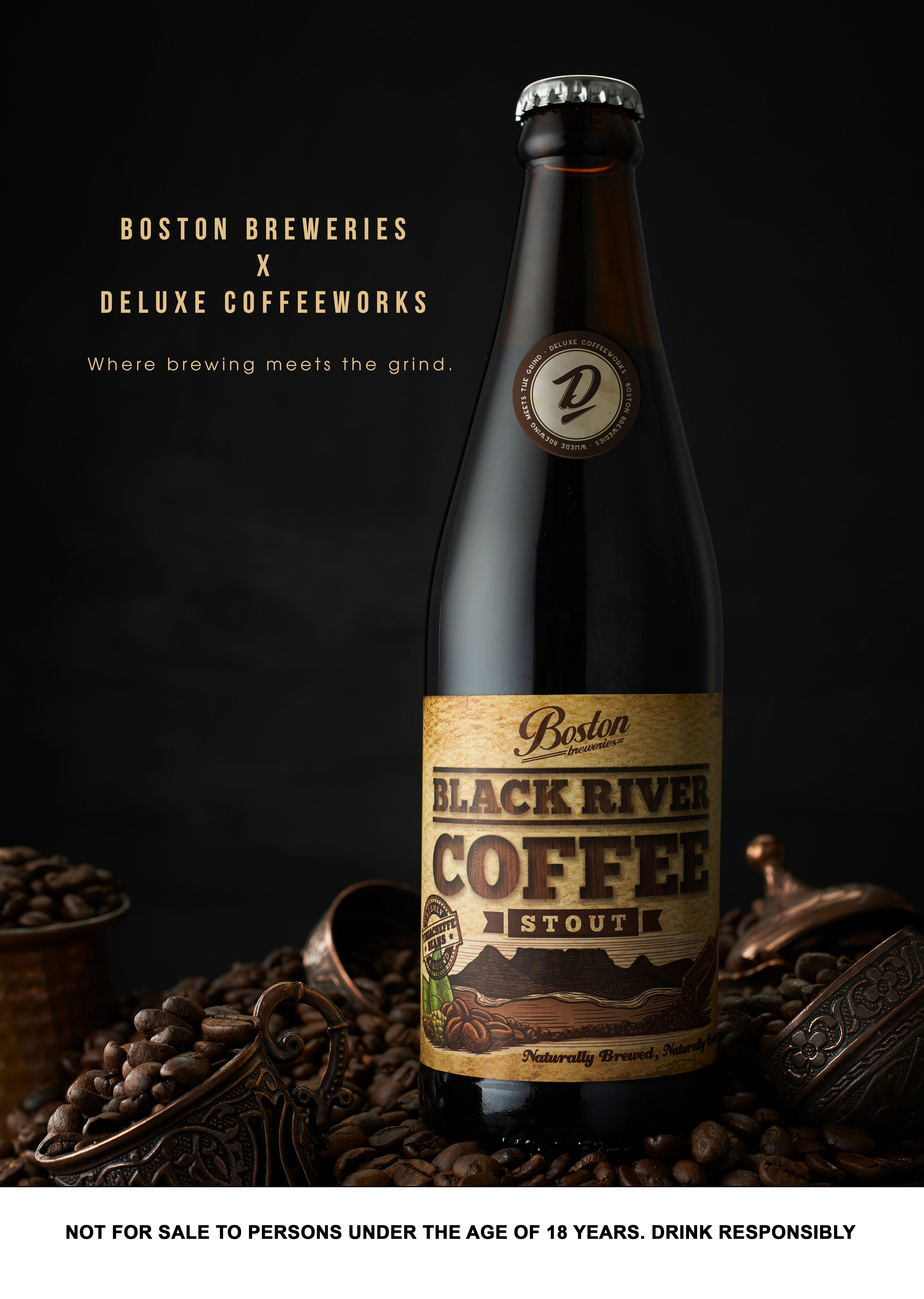 Black River Coffee Stout | HarassedMom