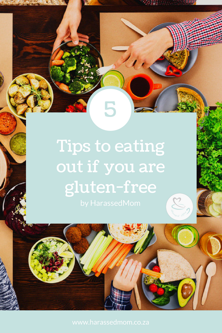 Tips for eating out when you are gluten free | HarassedMom
