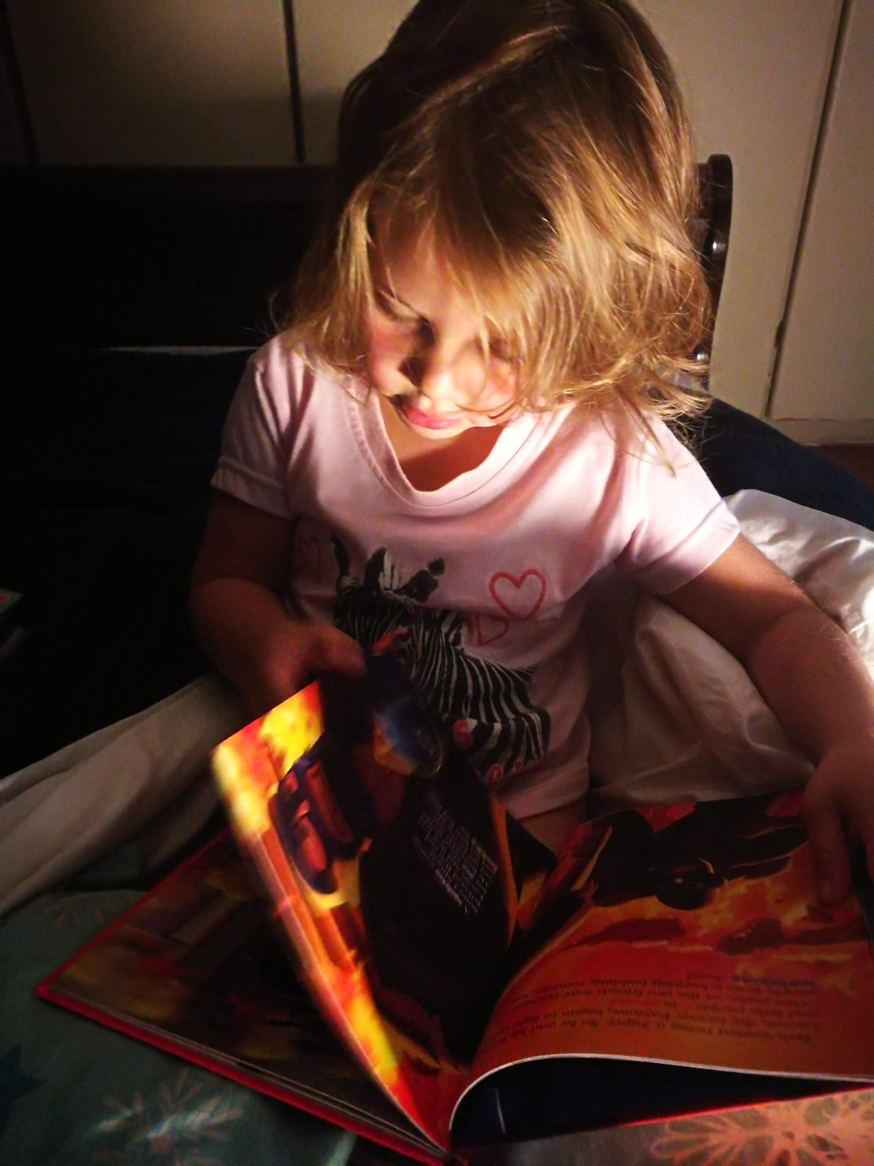 Bedtime Conversations with Emma | HarassedMom