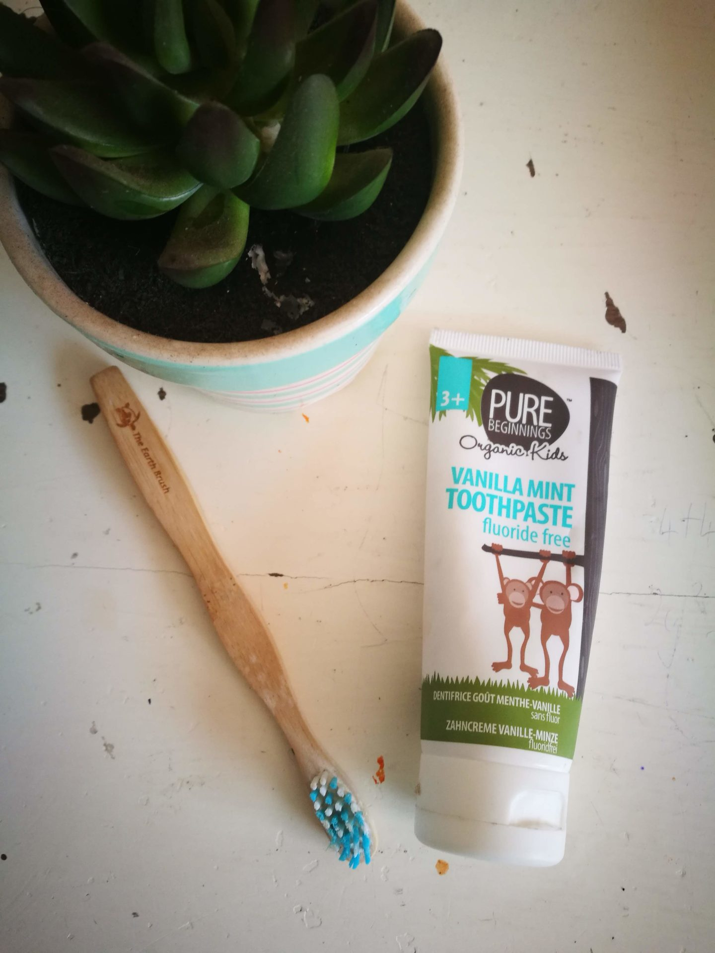 Pure Beginnings Toothpaste | HarassedMom