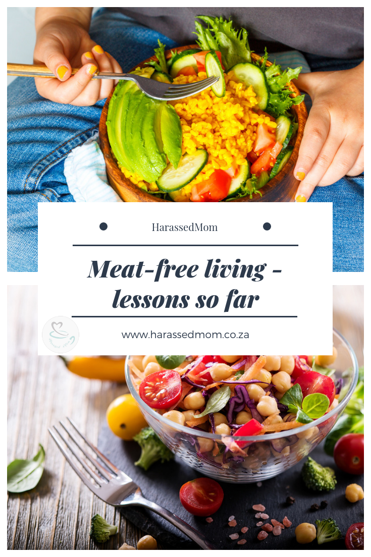 Meat-free, lessons learnt so far | HarassedMom