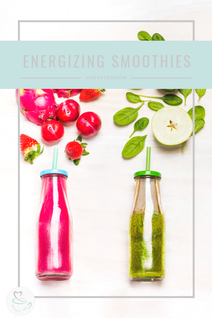 Energizing Smoothies For On The Go Moms | HarassedMoms