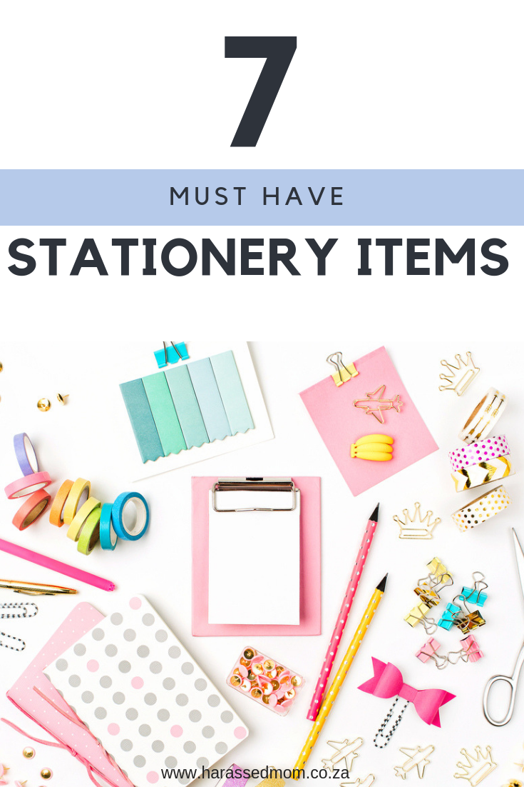 Stationery Must Haves | HarassedMom