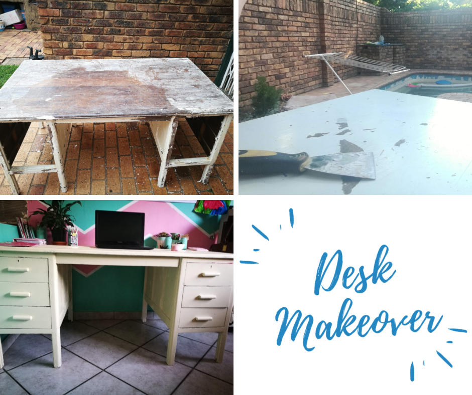 Desk Makeover with Rust-oluem|HarassedMom