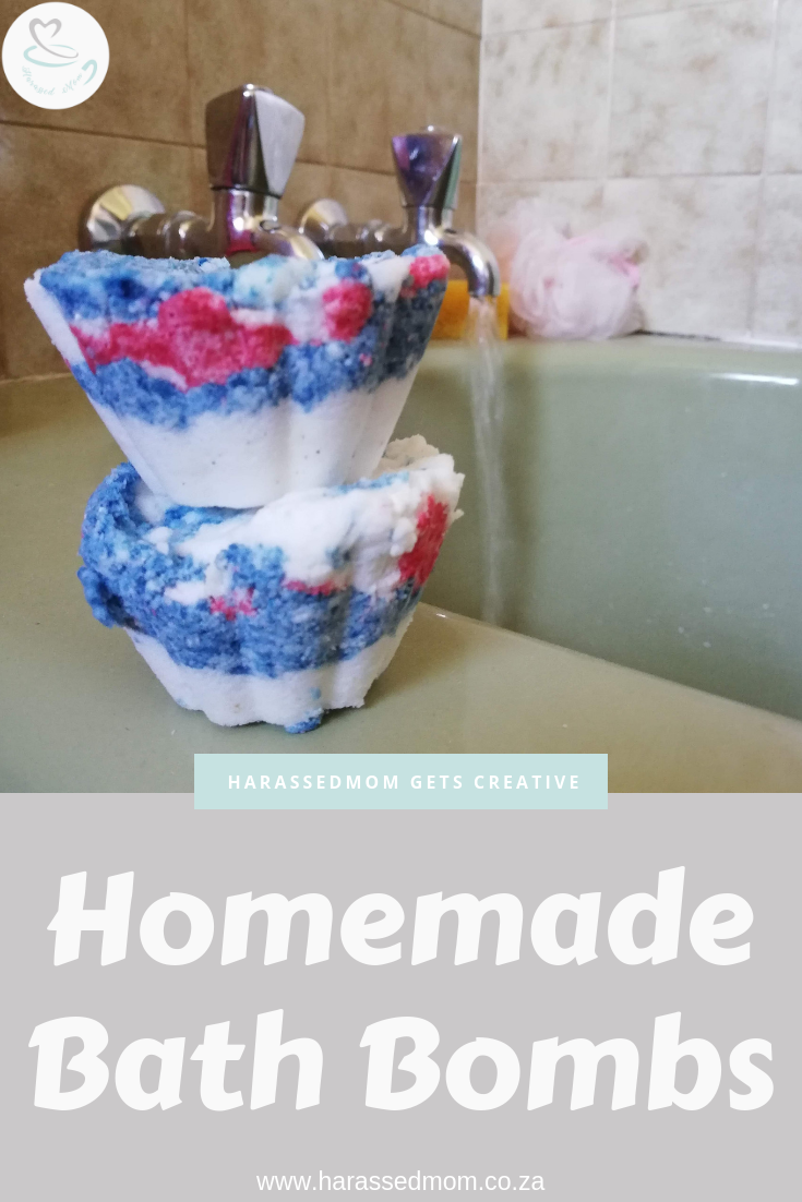 Easy Homemade Bathbombs | HarassedMom