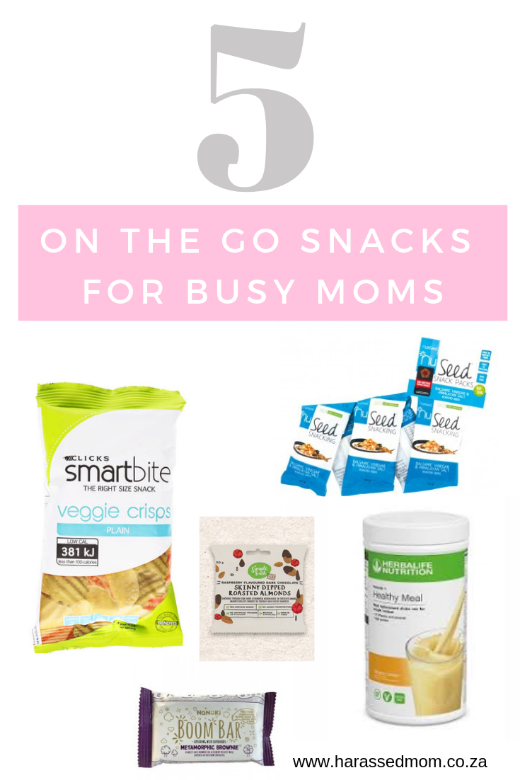 Healthy On The Go Snack Ideas for Busy Moms | HarassedMom