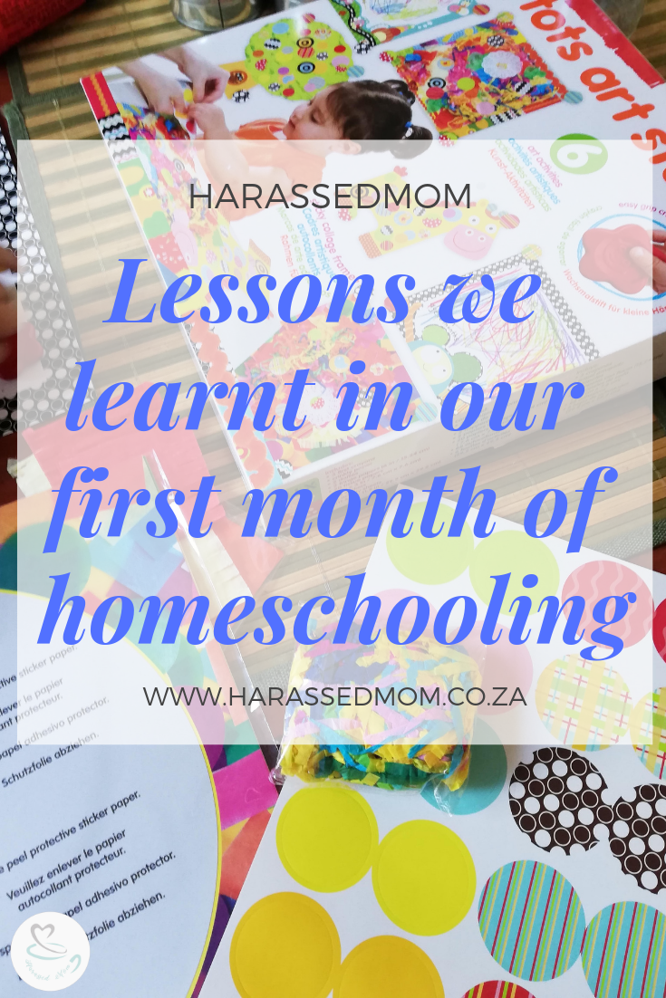 Our First Month of Homeschooling | HarassedMom