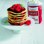 Jenny Morris's Raspberry and Chocolate Crepe Stacks| HarassedMom
