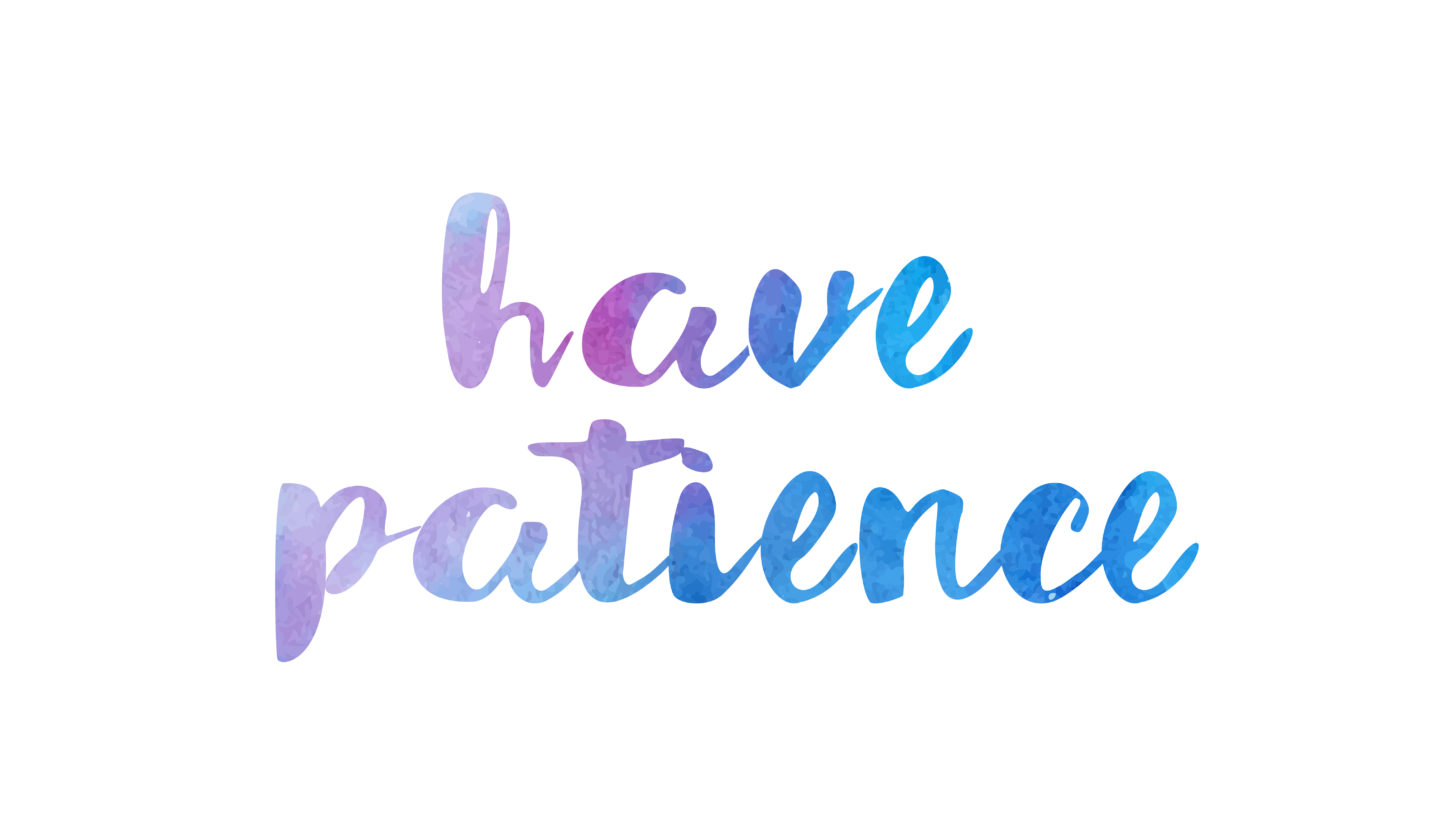 Patience and homeschooling